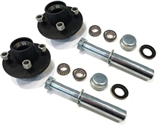 The ROP Shop (Pack of 2) Trailer Axle Kits with 4 on 4