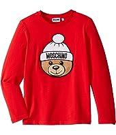 Moschino Kids - T-Shirt w/ Hat Toy Bear (Big Kids)