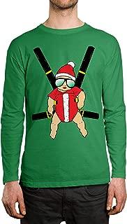Santa Baby Carrier Men's Long Sleeve Shirt