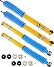 Bilstein 4600 Series Shock Absorbers For Jeep Wrangler & Wrangler Unlimited 2007-14 - Includes Front Shocks # 24-141727 & Rear Shocks # 24-141734