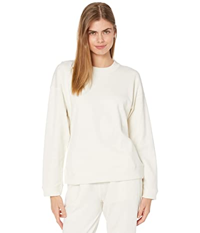 Vince Ribbed Long Sleeve Pullover