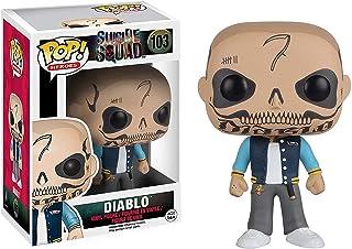 El Diablo: Funko Pop! Heroes Vinyl Figure & 1 Compatible Graphic Protector Bundle (103 - 08362 - B)