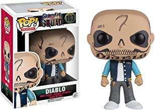 Funko El Diablo: Suicide Squad x POP! Heroes Vinyl Figure & 1 POP! Compatible PET Plastic Graphical Protector Bundle [#103 / 08362 - B]