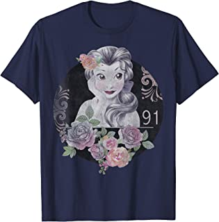 Disney Beauty And The Beast Belle Vintage Collage T-Shirt