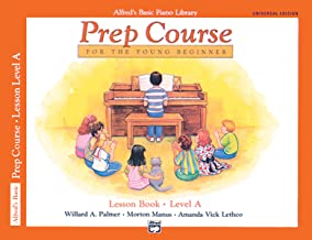 Alfred's Basic Piano Prep Course Lesson Book, Bk A: For the Young Beginner, Book & CD (Alfred's Basic Piano Library) PDF