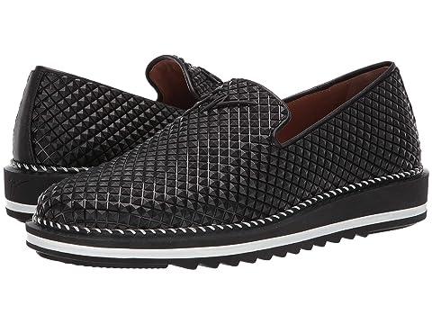 Giuseppe Zanotti Tim Geometric Texture Slip-On Sneaker