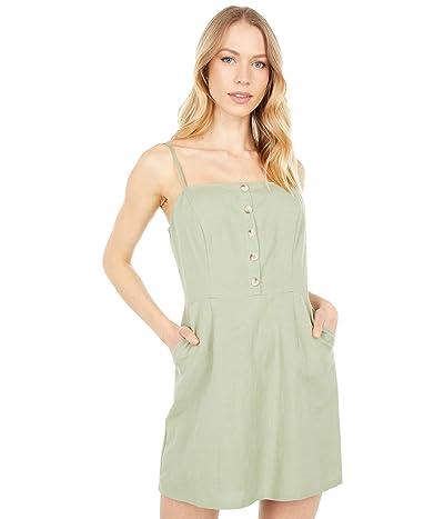 LOST + WANDER Local Adventurer Mini Dress (Sage) Women