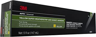 3M 08001 Super Weatherstrip and Gasket Adhesive-5 oz, Yellow