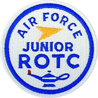 P-AFROT-R/F, Air Force JROTC Patch, ROUND Full Color (A-1-518) PATCHES & TABS