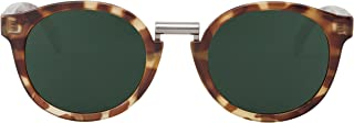 MR.BOHO - High-Contrast tortoise fitzroy with classical lenses - Gafas De Sol unisex multicolor (carey), talla única