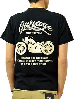 (ジーンズバグ)JEANSBUG MOTORCYCLE オリジナル バイカー プリント 半袖 Tシャツ メンズ レディース 大きいサイズ ST-MOTOR