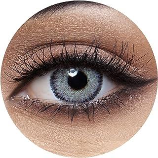 Anesthesia Anesthetic Gray Unisex Contact Lenses, Anesthesia Cosmetic Contact Lenses, 6 Months Disposable - Anesthetic Gra...