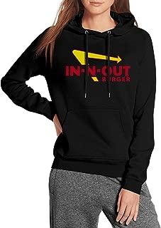 Long Sleeve Womens in-n-Out Burger Hoodie Sweatshirt