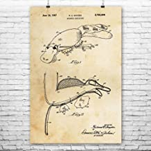 Platypus Hand Puppet Poster Print, Ventriloquist Gift, Prop Comedian, Retro Toys, Hobbyist Collector, Kids Entertainment Vintage Paper (24