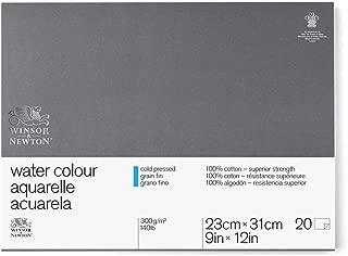 Winsor & Newton Professional Watercolor Paper Block, Cold Pressed 140lb, 9