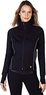 PRJON Women's High Performance Mesh Zip-up Jacket