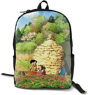 Totoro & Friends School Backpack Lightweight Laptop Bag For Women Men