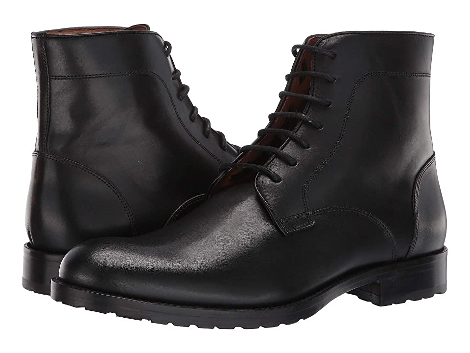 Massimo Matteo 7-Eye Boot (Black) Men