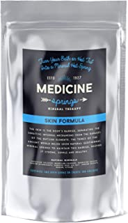 Dead Sea Salt Magnesium Rich Treatment - Experience Healing Hot Springs From Around The World - Turn Your Bath Into a Soaking Mineral Spring - Treats 100 Gallons by Medicine Springs (Skin Formula)