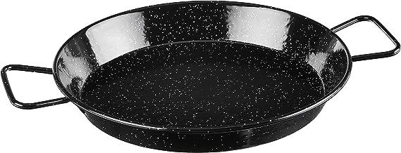 Garcima 12-Inch Enameled Steel Paella Pan, 30 cm