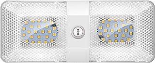 Kriogor 12V LED Lampen Dach RV Dach Auto Innenbeleuchtung mit Wohnmobilschalter Packen von 1