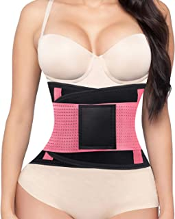 ZOUYUE Women's Waist Trainer Belt, Back Brace for Lower Back Pain, Waist Trimmer for Weight Loss, Slimming Body Shaper Belt