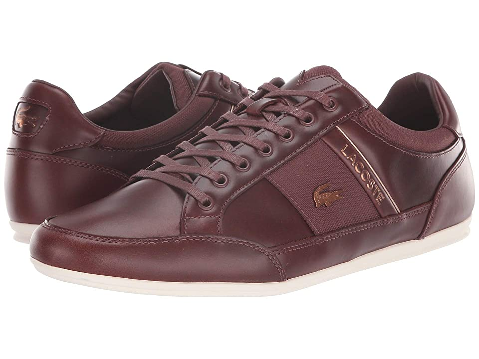 Lacoste Chaymon 318 7 U (Dark Brown/Off-White) Men