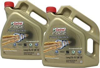 Castrol Aceite para Motor Edge Professional LongLife III 5W-30, Pack 8 litros (Nuevo envase 2018)