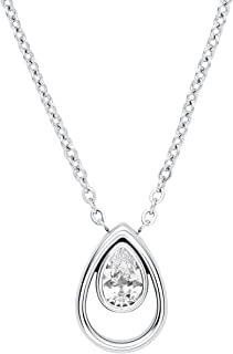Skagen womens stainless steel Not applicable applicable No Gemstone Necklaces - SKJ1338040