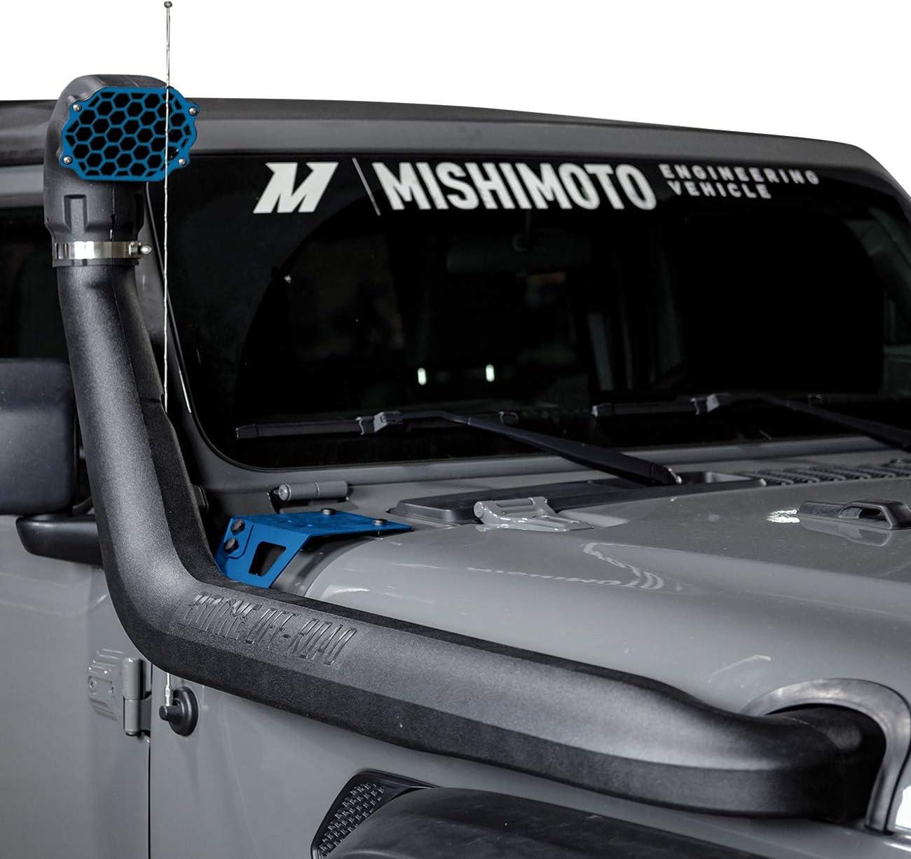 Borne Off-Road MMAI-JL-18NMWBL Snorkel for Wrangler JL Jeep Max 74% OFF Regular store 2018