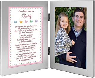 Daddy's Girl So Happy You're My Dad Gift to Father, Add Photo