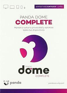 Panda Dome Complete, Antivirus de Última Generatión, Dispositivos Ilimiatados, 1 Año