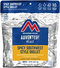 Mountain House Spicy Southwest Style Skillet | Freeze Dried Backpacking & Camping Food | Survival & Emergency Food |Gluten-Free