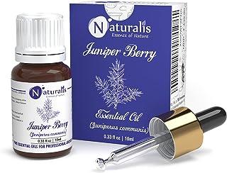 Naturalis Essence of Nature Juniper Berry Essential Oil 100% Pure, Natural & Undiluted Therapeutic Grade for Skin Care, Sc...