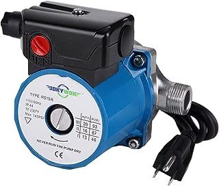 BOKYWOX Hot Water Circulation Pump 3/4'',3-Speed Circulating Pump (RS15-6SB)