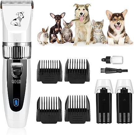 GHB Cortapelo para Perro Esquiladora Eléctrica Dog Clipper Recargable Para Mascota Gato