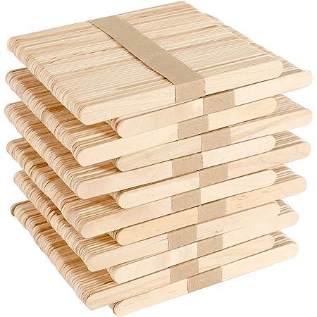 Holzspatel Wachs Holzspachtel DIY Bastelh/ölzer Handwerk Holzspatel Basteln 11,4 cm x1 cm,zum Basteln Umr/ühren Holzstiele f/ür EIS Holzstab Stiele JTWEB Eisstiele Holz,50 St/ücke Holzstiele