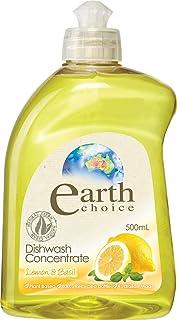 Earth Choice Dishwashing Liquid Lemon/Bas 500ml