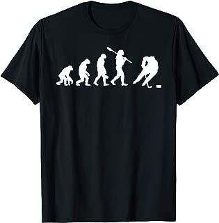 Ice Hockey Evolution Shirt - Fan Tee - Ice Hockey Gift Item