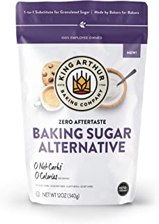 King Arthur, Baking Sugar Alternative, Made with Plant-Based Ingredients, Keto-Friendly, 1-to-1 Substitute for Granulated ...