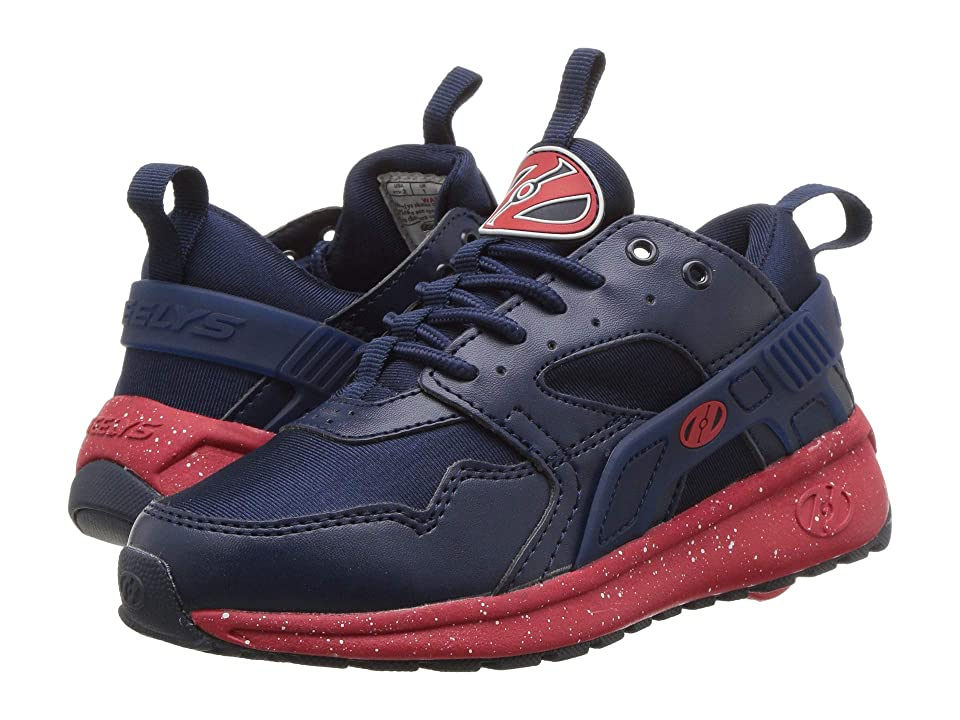 Heelys Force (Little Kid/Big Kid/Adult) (Navy/Red/Speckle) Boys Shoes