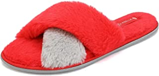 Best womens slippers red Reviews