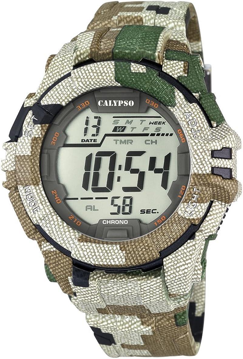 Calypso Watches Reloj Digital para Hombre de Cuarzo con Correa en Caucho K5681_3