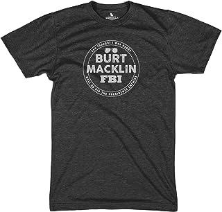 02d8e85f7 Burt Macklin FBI Funny Tshirts Parks Graphic tees
