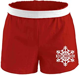 Soffe Women's Novelty Christmas Printed Authentic Short