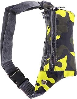 kesoto Waterproof Running Belt Gym Fitness Travel Waist Pouch Bum Bag Men/Women - Yellow