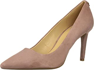 Womens Dorothy Flex Pump Leather Pointed Toe, Dusty Rose, Size 6.5