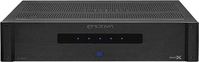 Emotiva Audio A-500 BasX 5-Channel Power Amplifier, Black