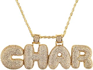 custom gold bubble necklace