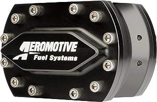 Fuel Pump, Hex Driven, 1080 gph, In-Line, 4-Bolt Flange Inlet/Outlet, Aluminum, Black Anodize, Each